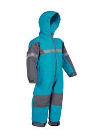 Blue OAKI Toddler Rain Suit