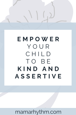 Help your shy child speak up and become kind and assertive.